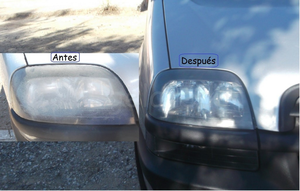 Reparar el faro delantero de tu vehículo