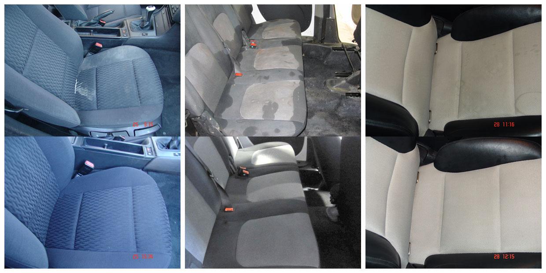 Limpiar la tapicer a del coche desde casa - Limpiar el interior del coche ...