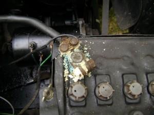 Debilidades comunes en la batería del coche